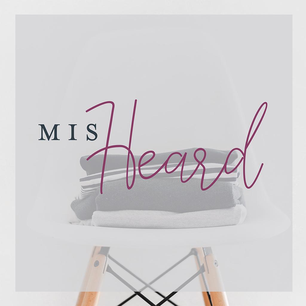 Misheard Logo