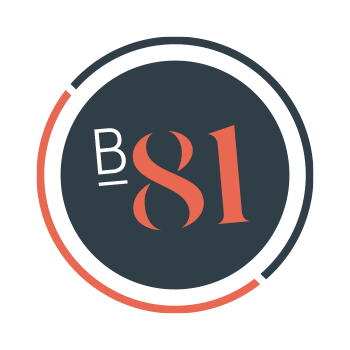 B81 Designs Logo