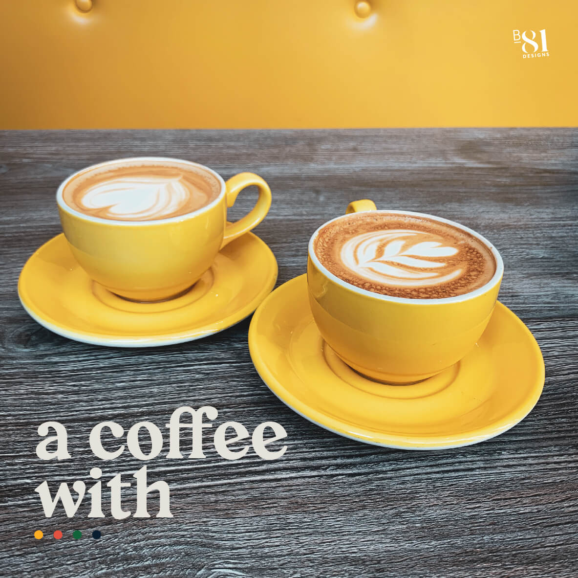 A coffee with...